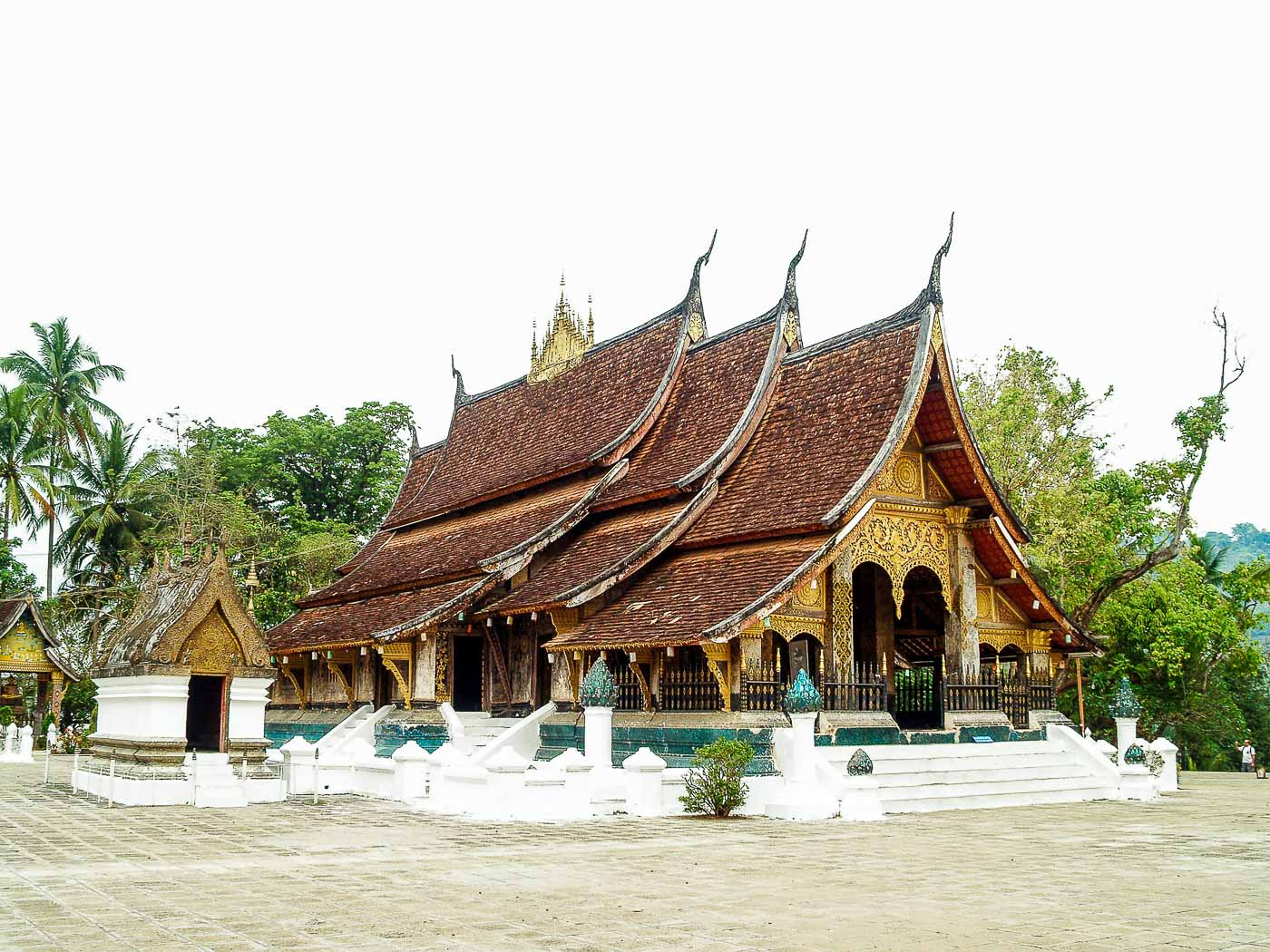 Turismo no Laos - Templo
