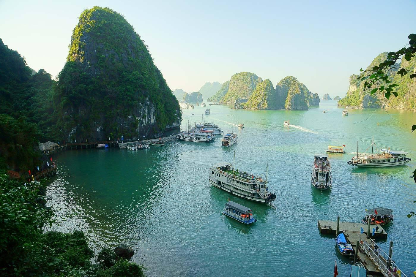 Turismo no Vietna - Ha Long Bay