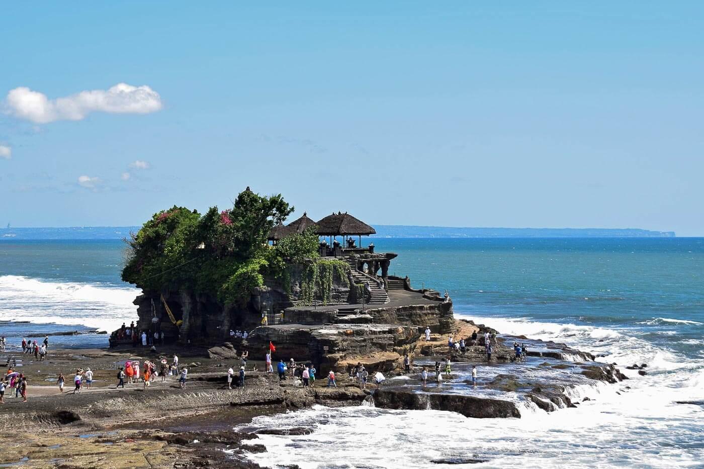 Viagem para Indonésia - Templo Tanah Lot