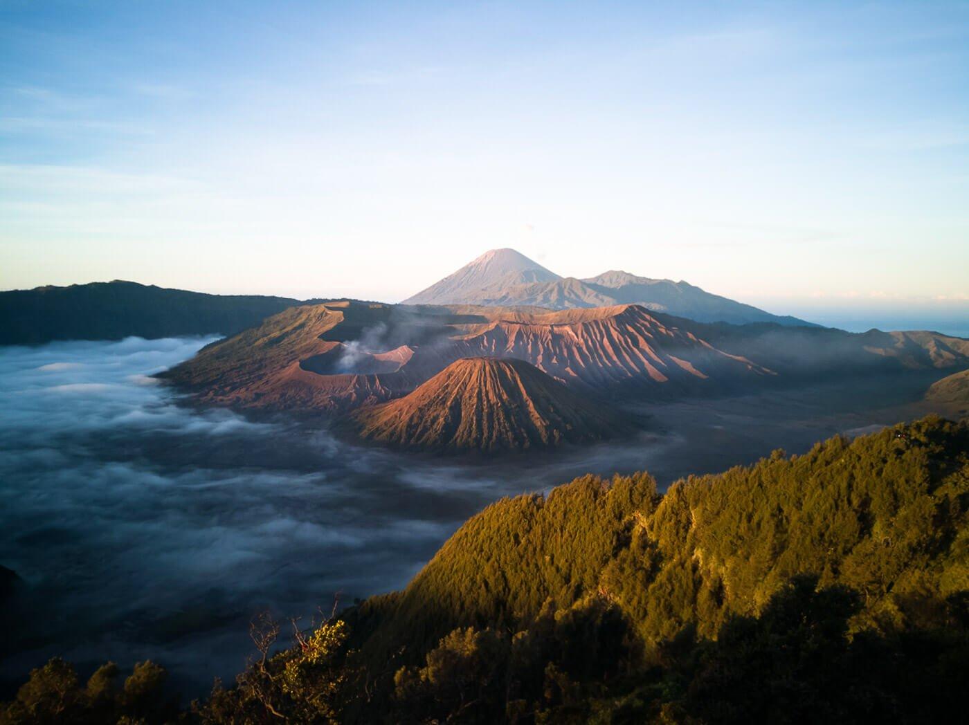 Viagem para Indonesia - Vulcão Monte Bromo
