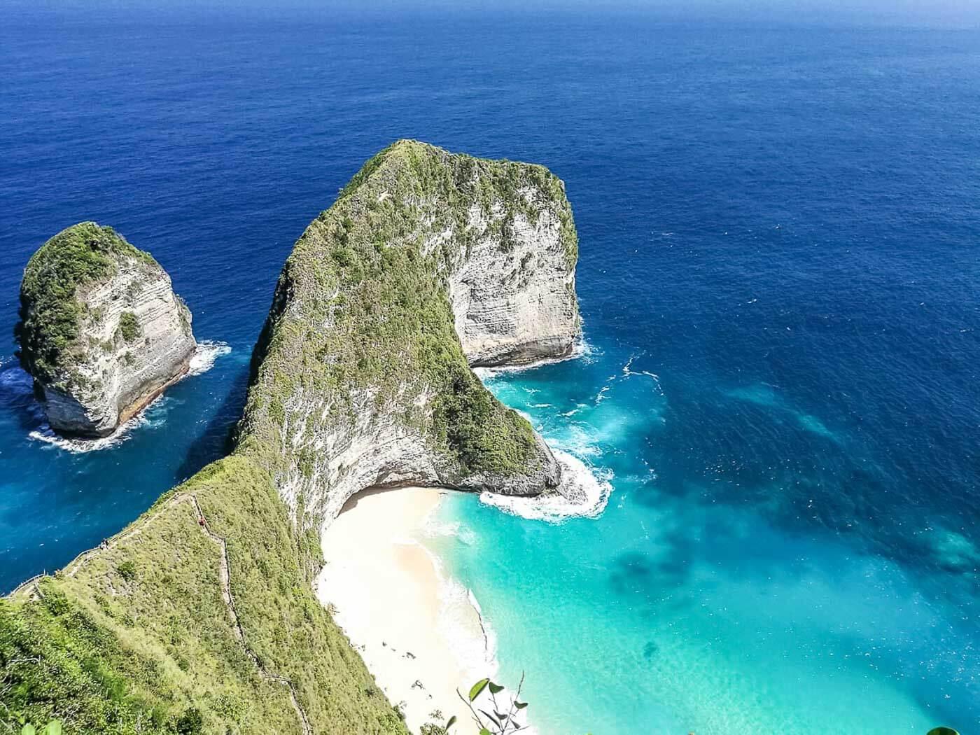 Viagem para Indonésia - Kelingking Beach