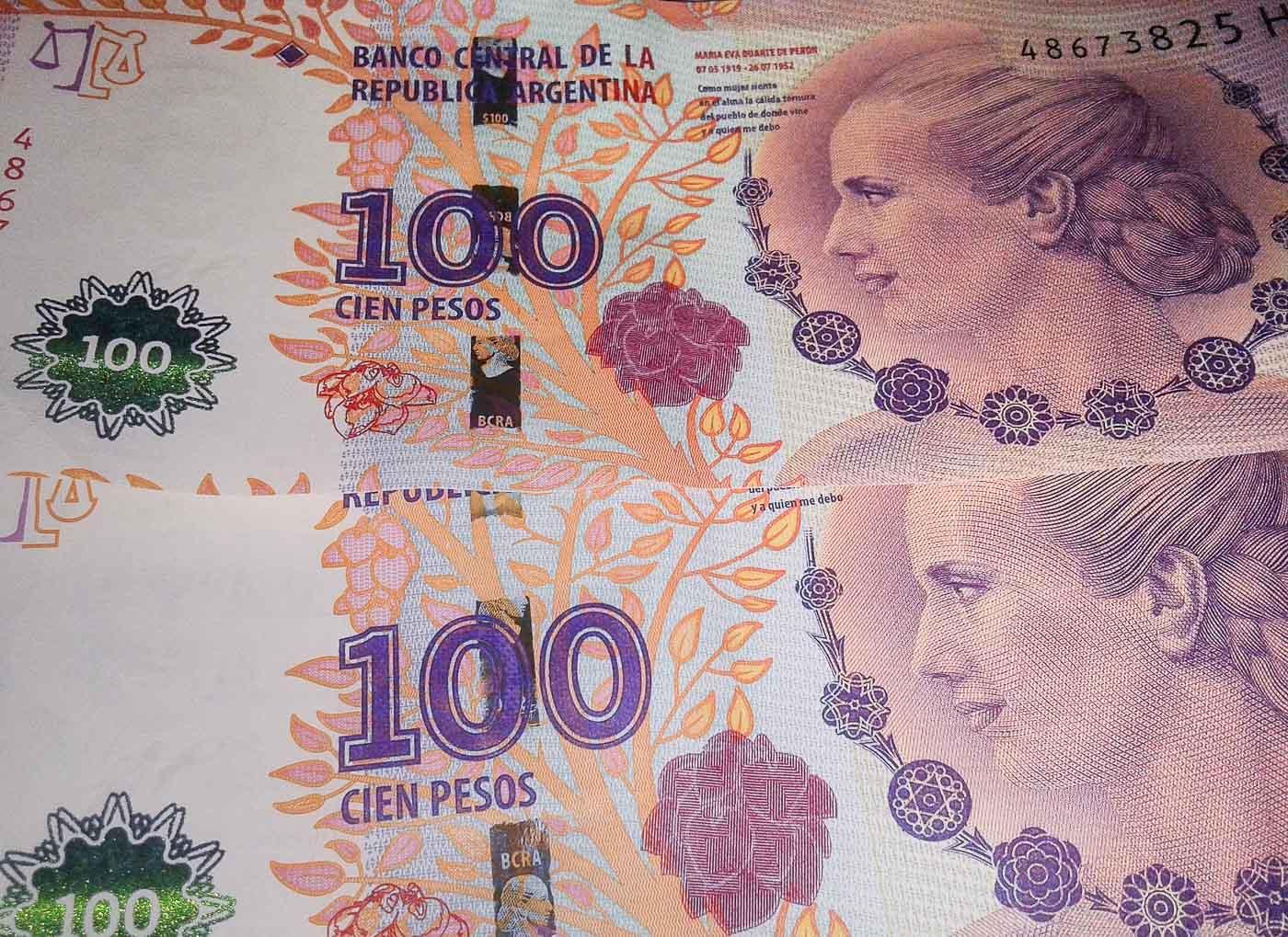 Viagem para Argentina - Peso Argentino