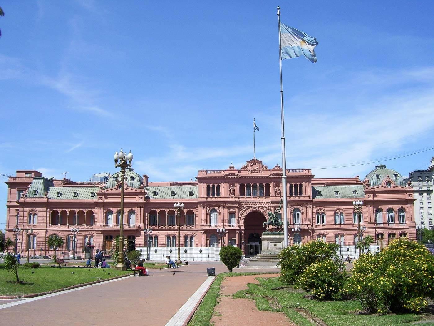 Viagem para Argentina - Casa Rosada