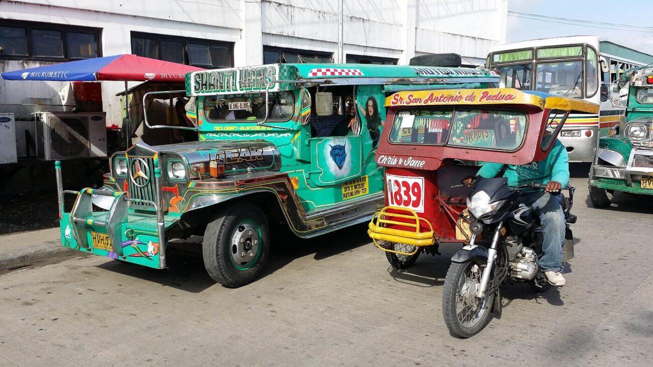 Viagem para as Filipinas - Triciclo
