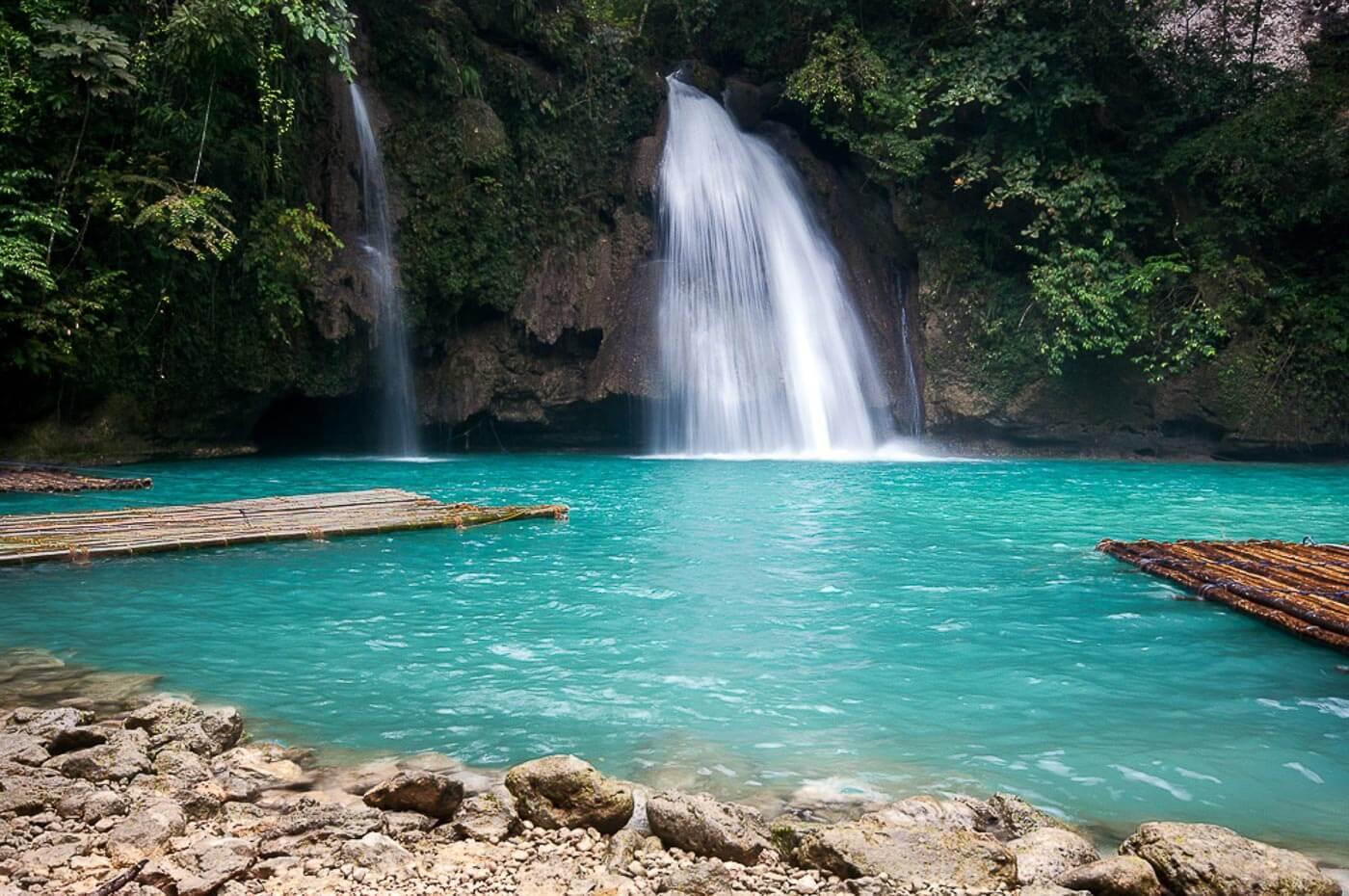 Viagem para as Filipinas - Kawasan Falls