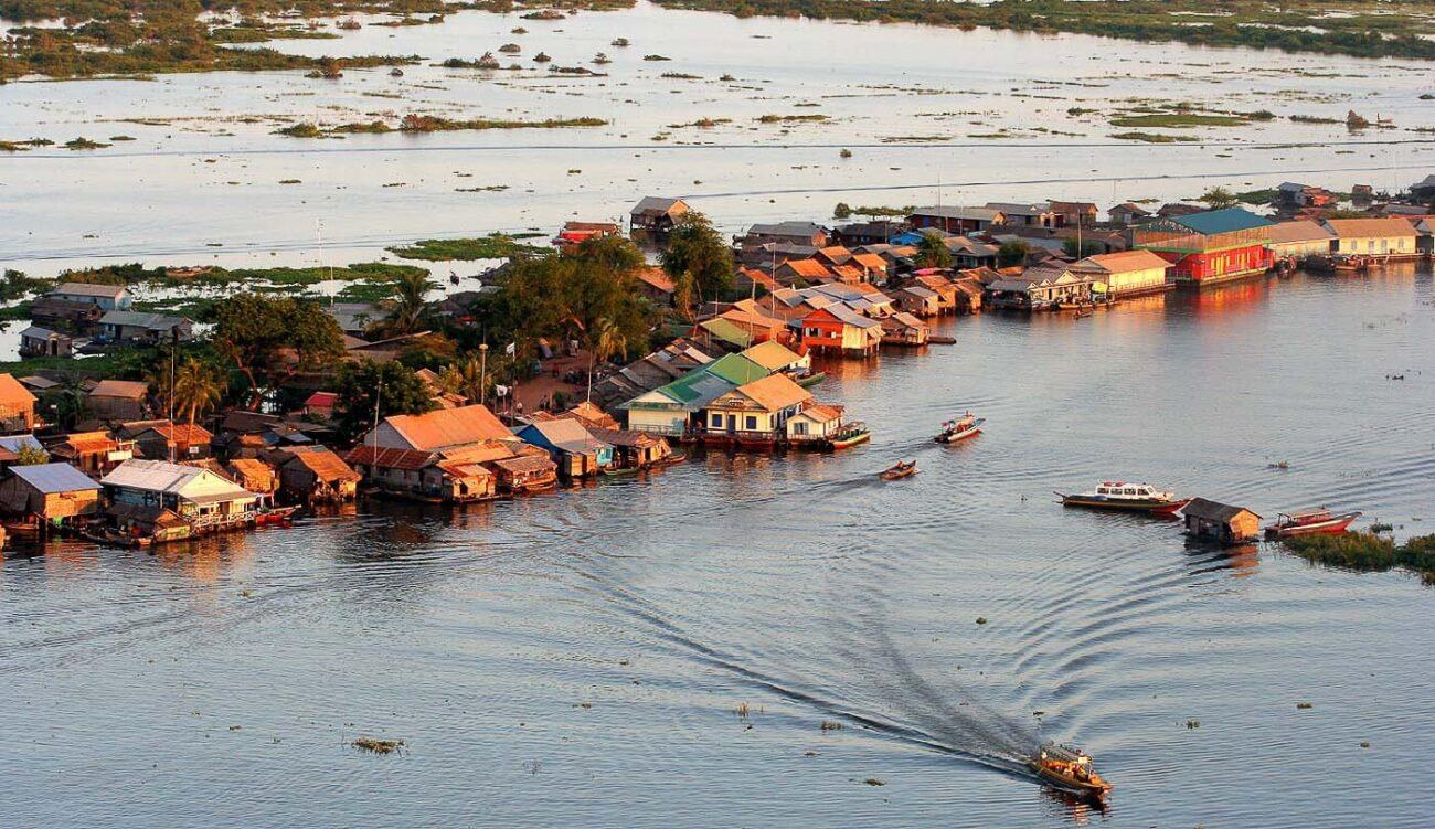 Viagem para o Camboja Tonle Sap