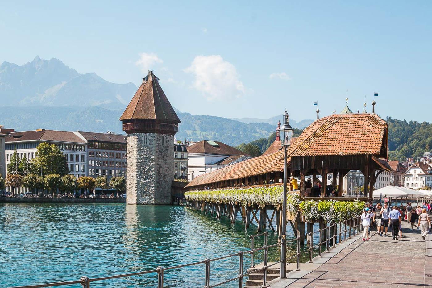 Viagem para Suíça - Turismo para Suíça - Lucerna