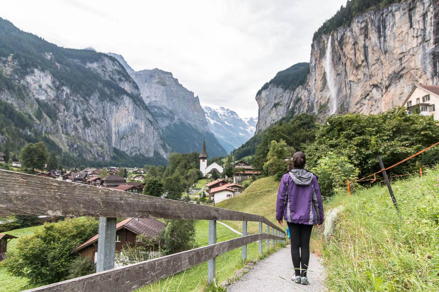 Viagem para Suíça - Turismo para Suíça - Lauterbrunnem