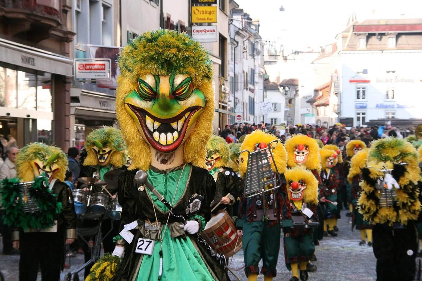 Viagem para Suiça - Turismo para Suíça - Carnaval