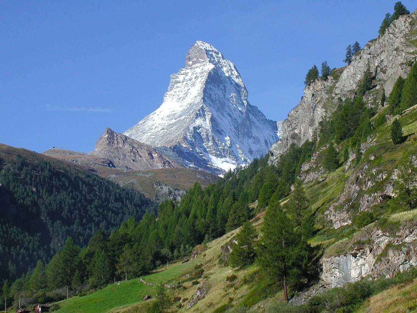 Viagem para Suíça - Turismo para Suíça - Monte Zermatt