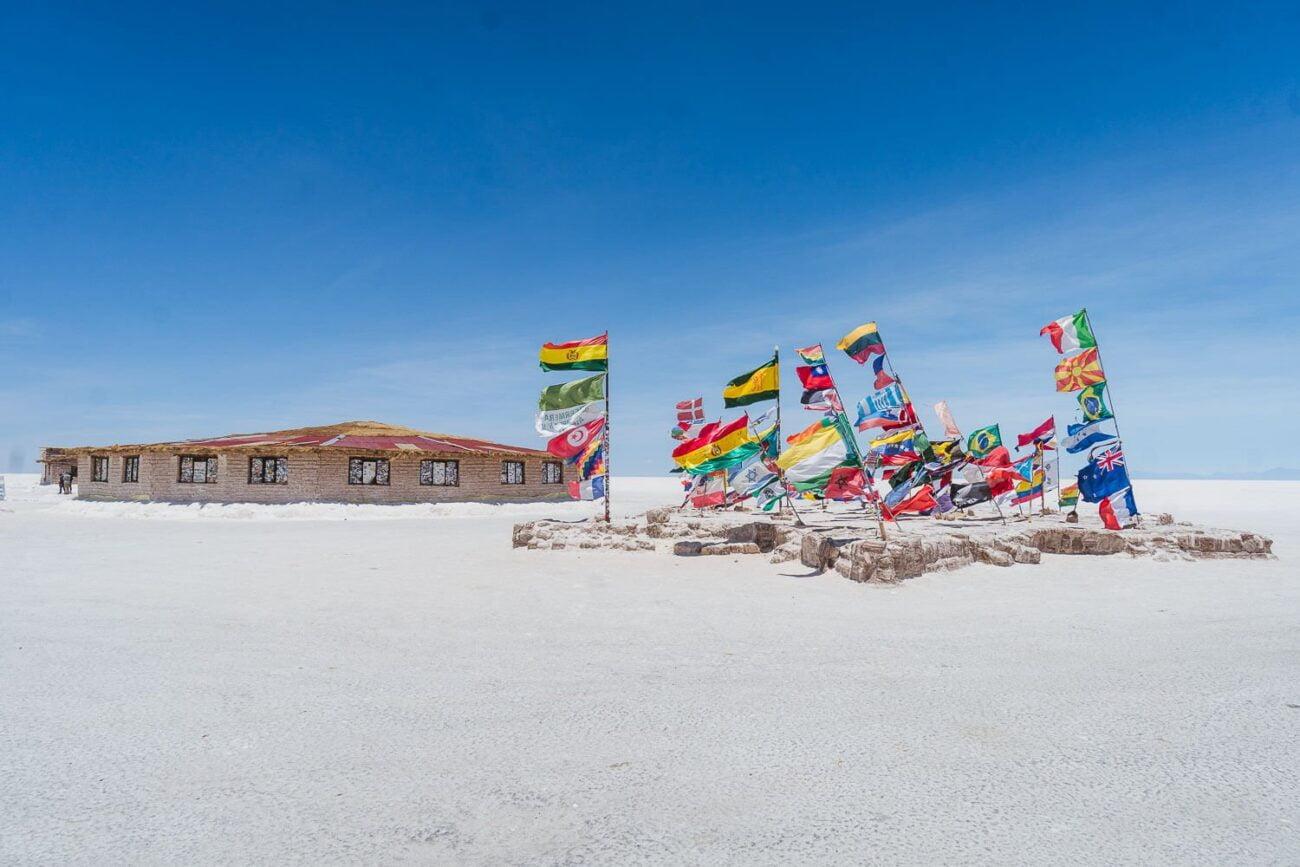 Foto do Hotel de Sal de fora - hotel de sal no Uyuni