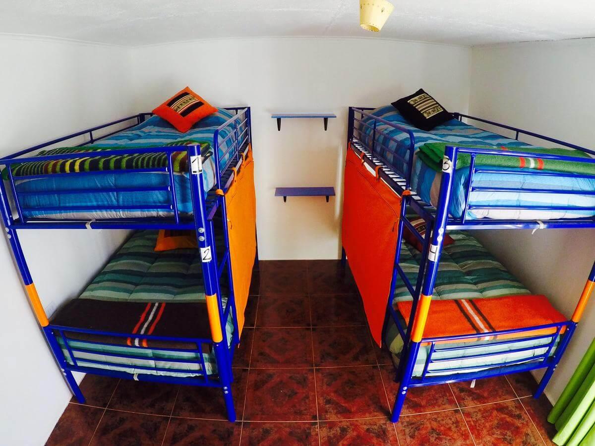 Foto Divulgação Quarto Compartilhado da Pousada Atacameña. Lagunas Altiplanicas Piedras Rojas Salar do Atacama Laguna Chaxa