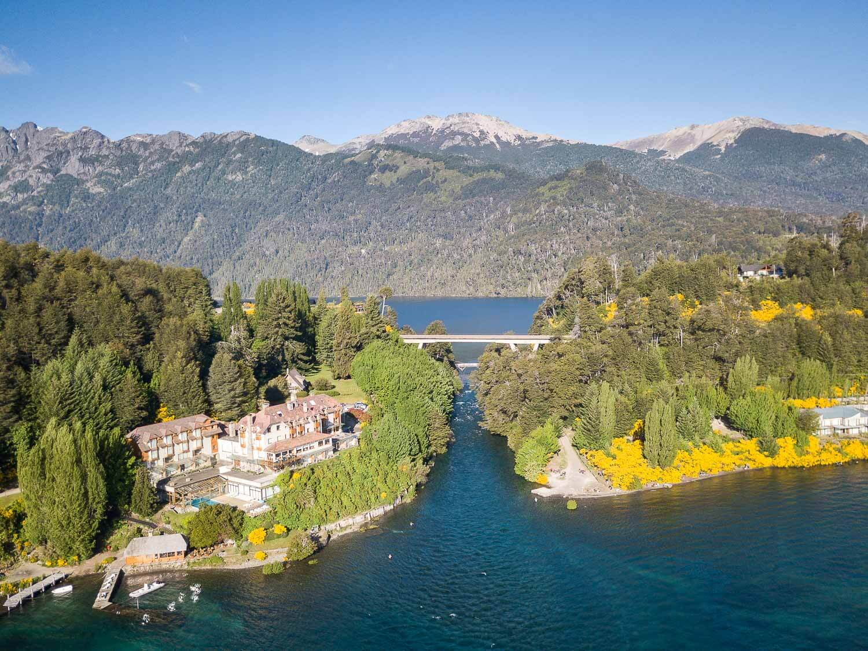 Rio que Liga os lagos Nahuel Huapi e Correntoso - O que fazer em Villa la Angostura