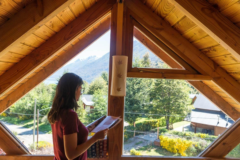 Foto da área de leitura - O que fazer em Villa la Angostura