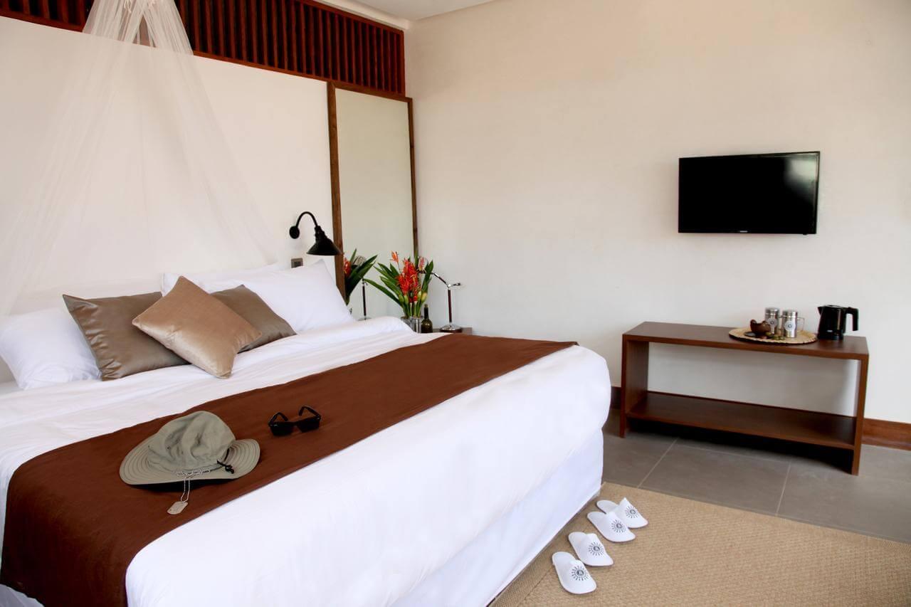 Foto do quarto de casal - Coron Filipinas