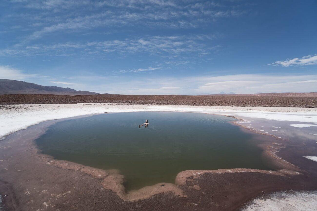 Lagunas Escondidas de Baltinache - Primeira Laguna