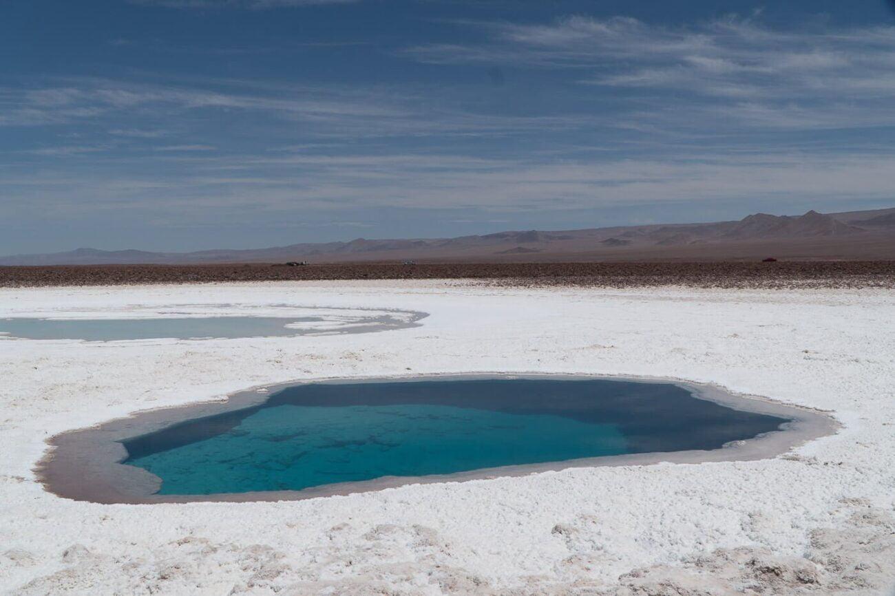 Lagunas Escondidas de Baltinache - Mais uma Laguna azul