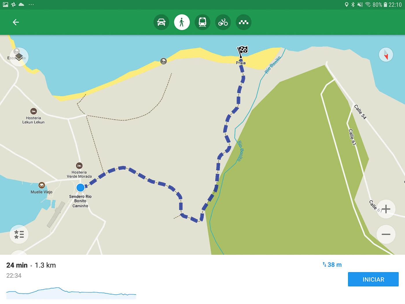 Melhor app para trilhas e viagens