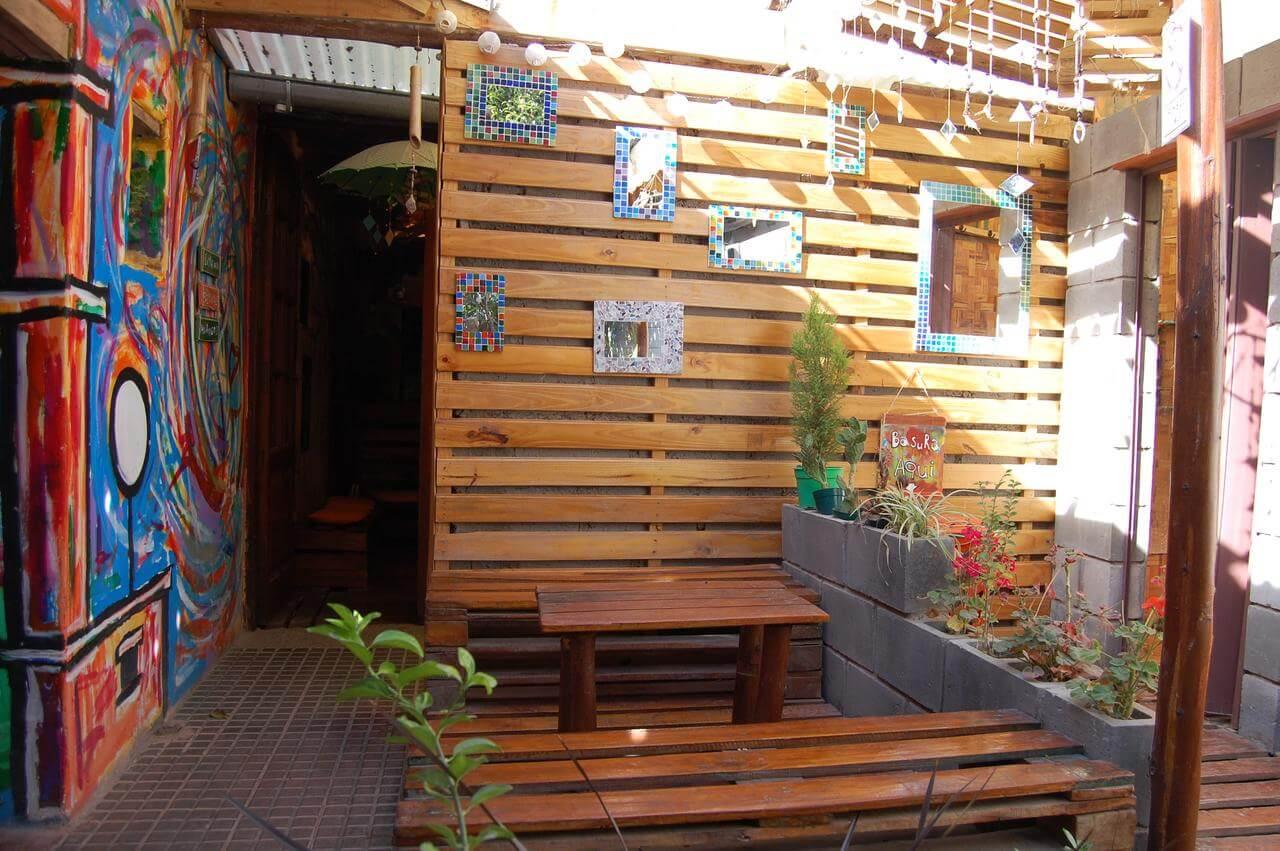 O que fazer em Jujuy - foto da entrada do hotel