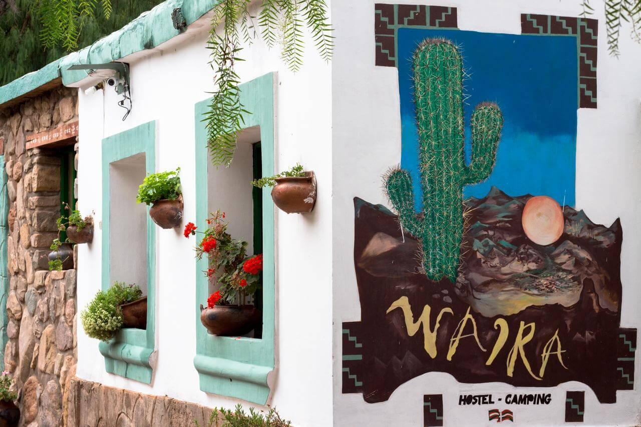 O que fazer em Jujuy - foto fachada do hotel
