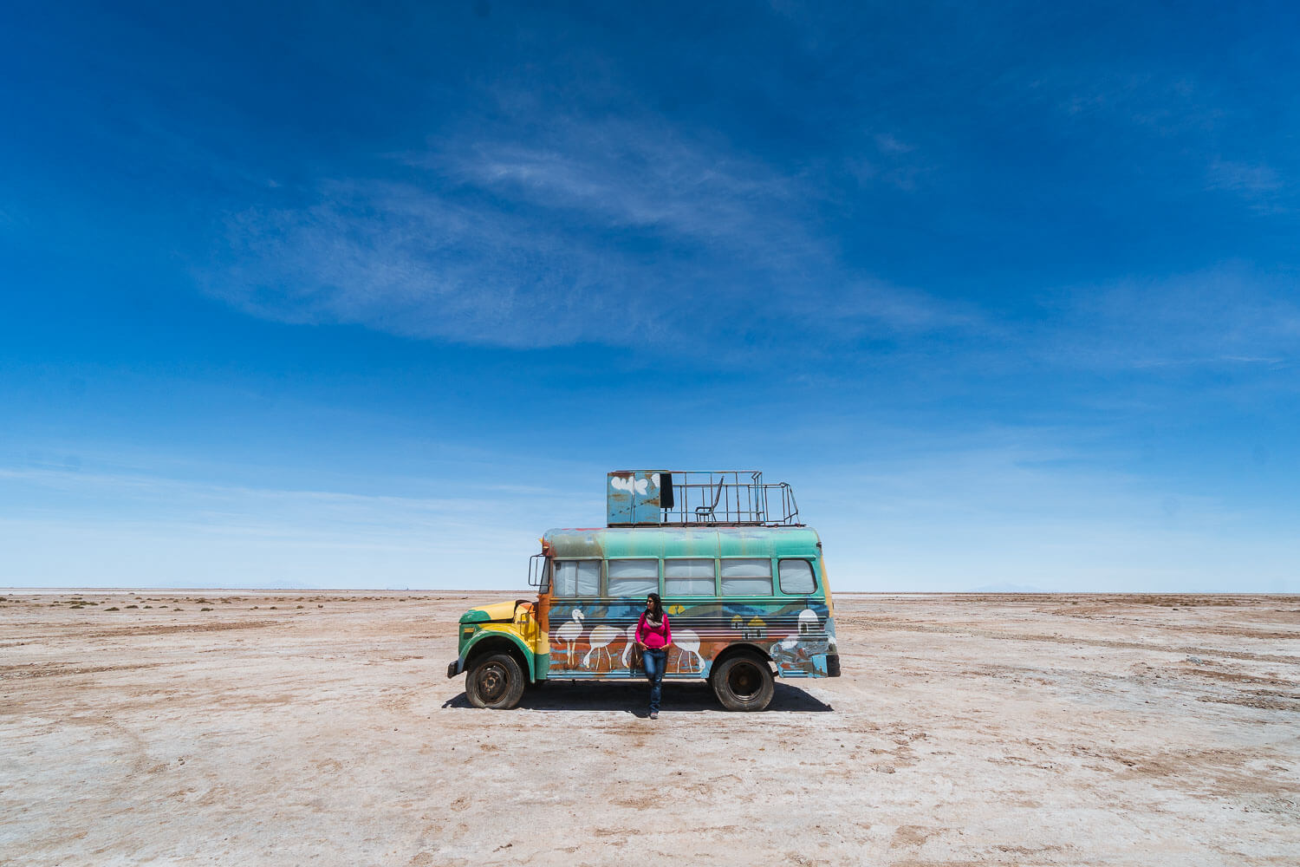 Salar de Uyuni Dicas Precisa Saber - ônibus Antigo