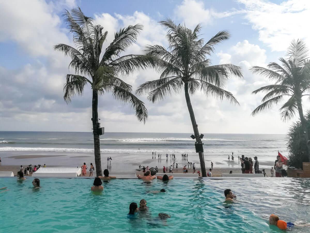 O que fazer em Bali - Beach Club