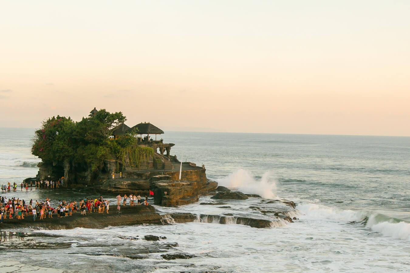 O que fazer em Bali - Tanah Lot