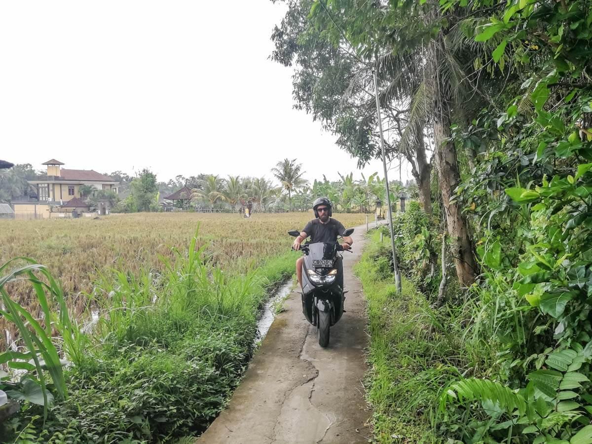 O que fazer em Bali - Scooter