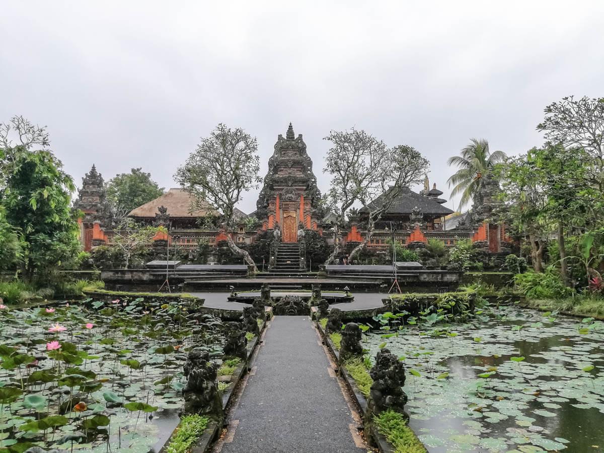 O que fazer em Bali - Water Palace