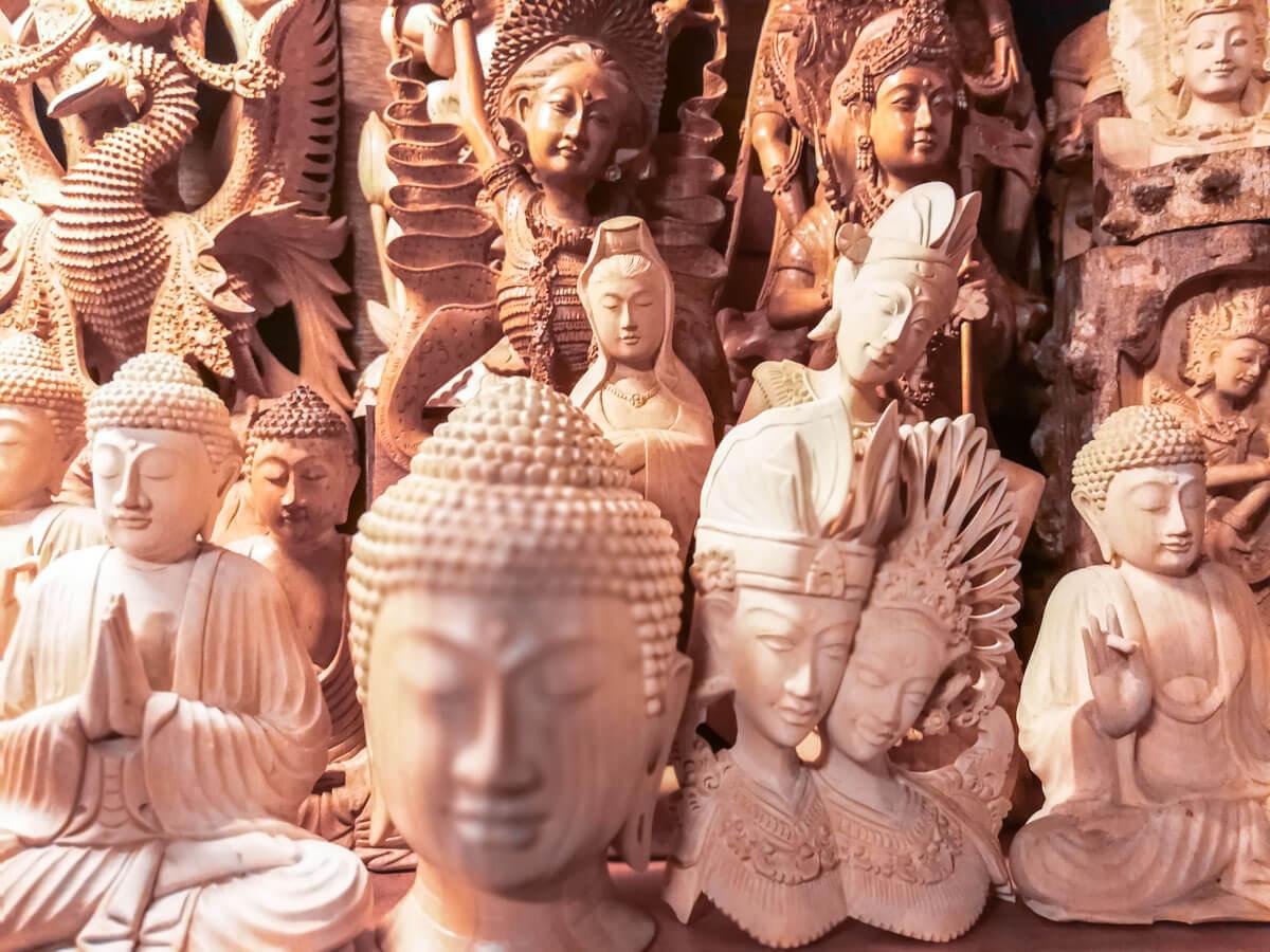 O que fazer em Bali - Estátua Budah
