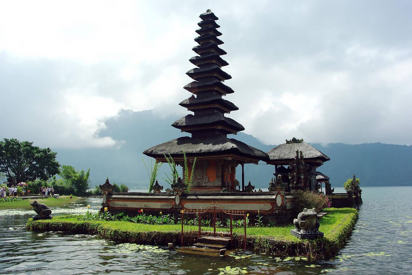 O que fazer em Bali - Water Templo