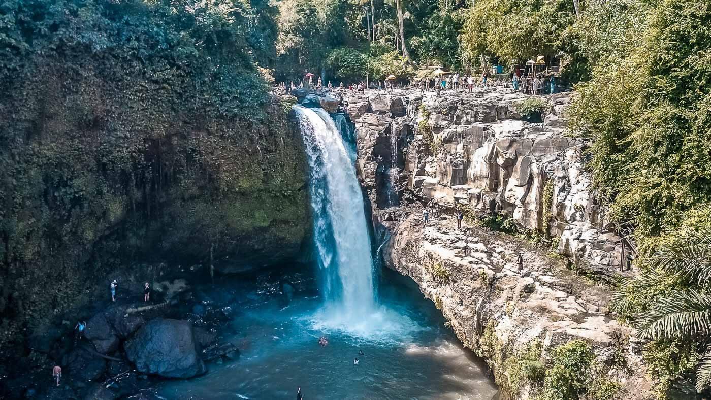 O que fazer em Bali - Cachoeira