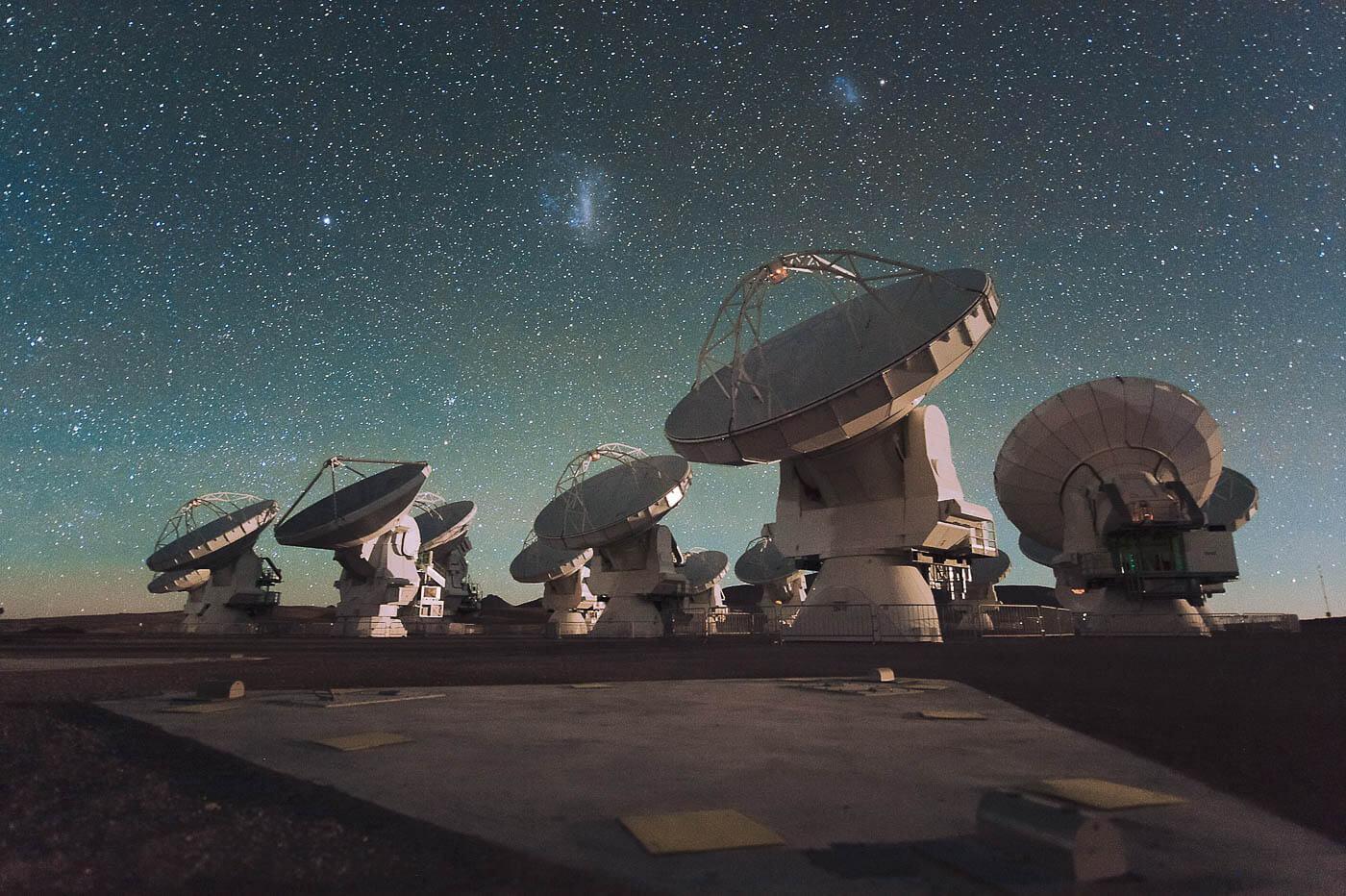Tour astronômico do Atacama - Alma