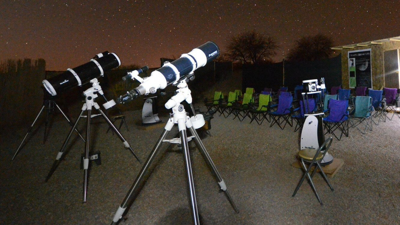Tour astronômico do Atacama - os telescópios