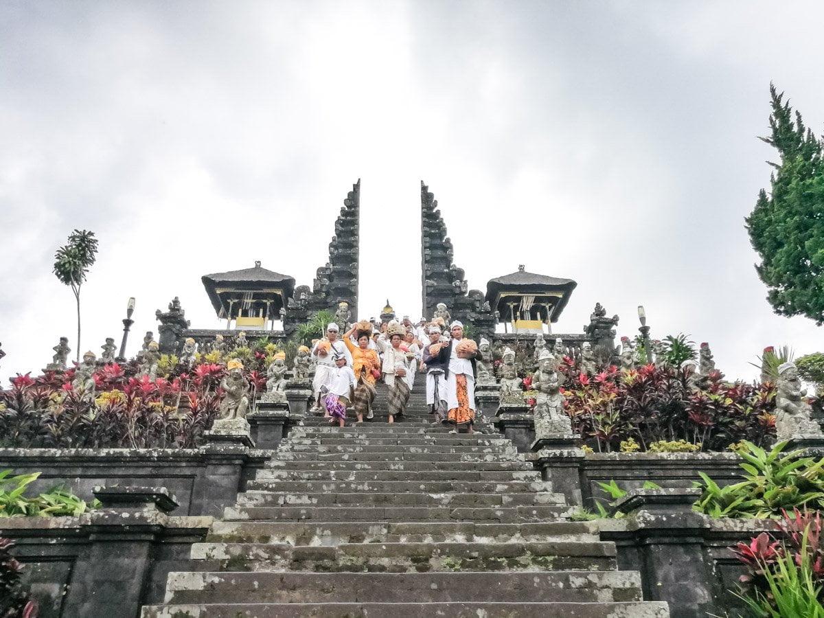O que fazer em Bali - Pura Besakih