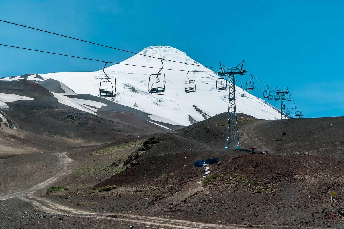 O que fazer em Puerto Varas - Teleféricos da estação de ski