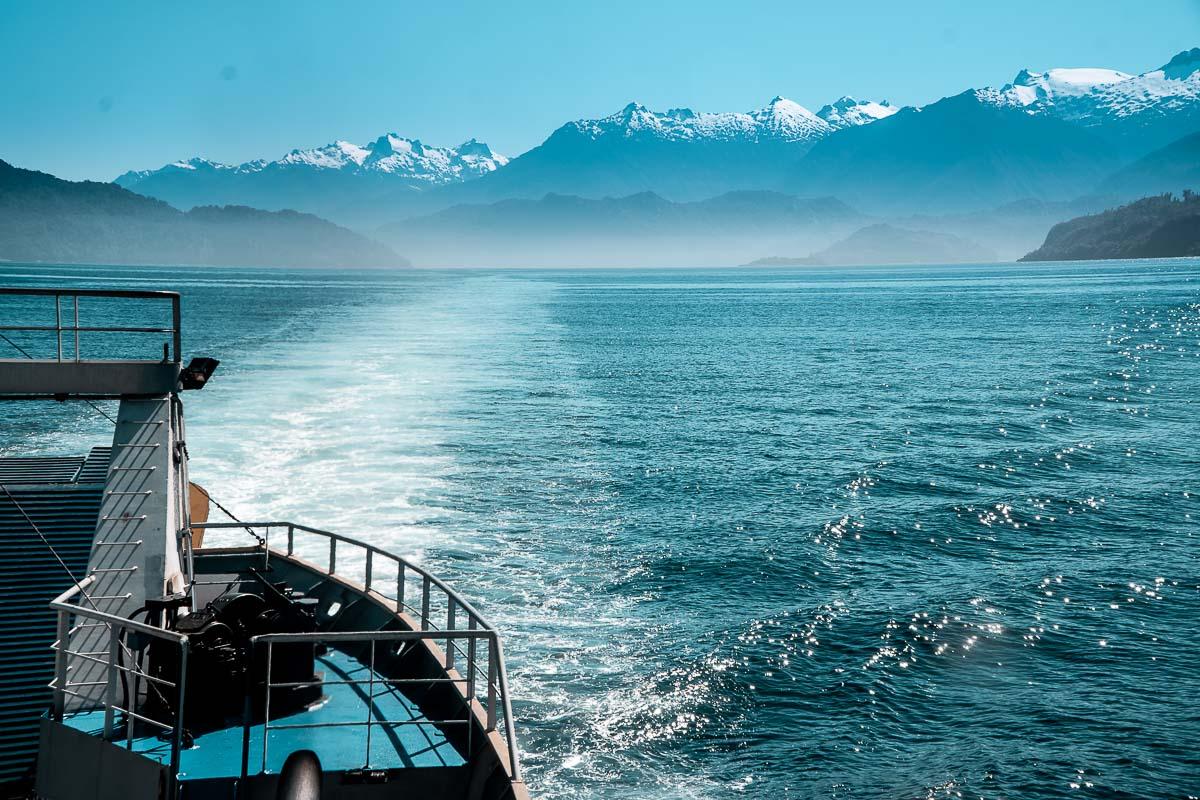 Carretera Austral Chile - Balsa