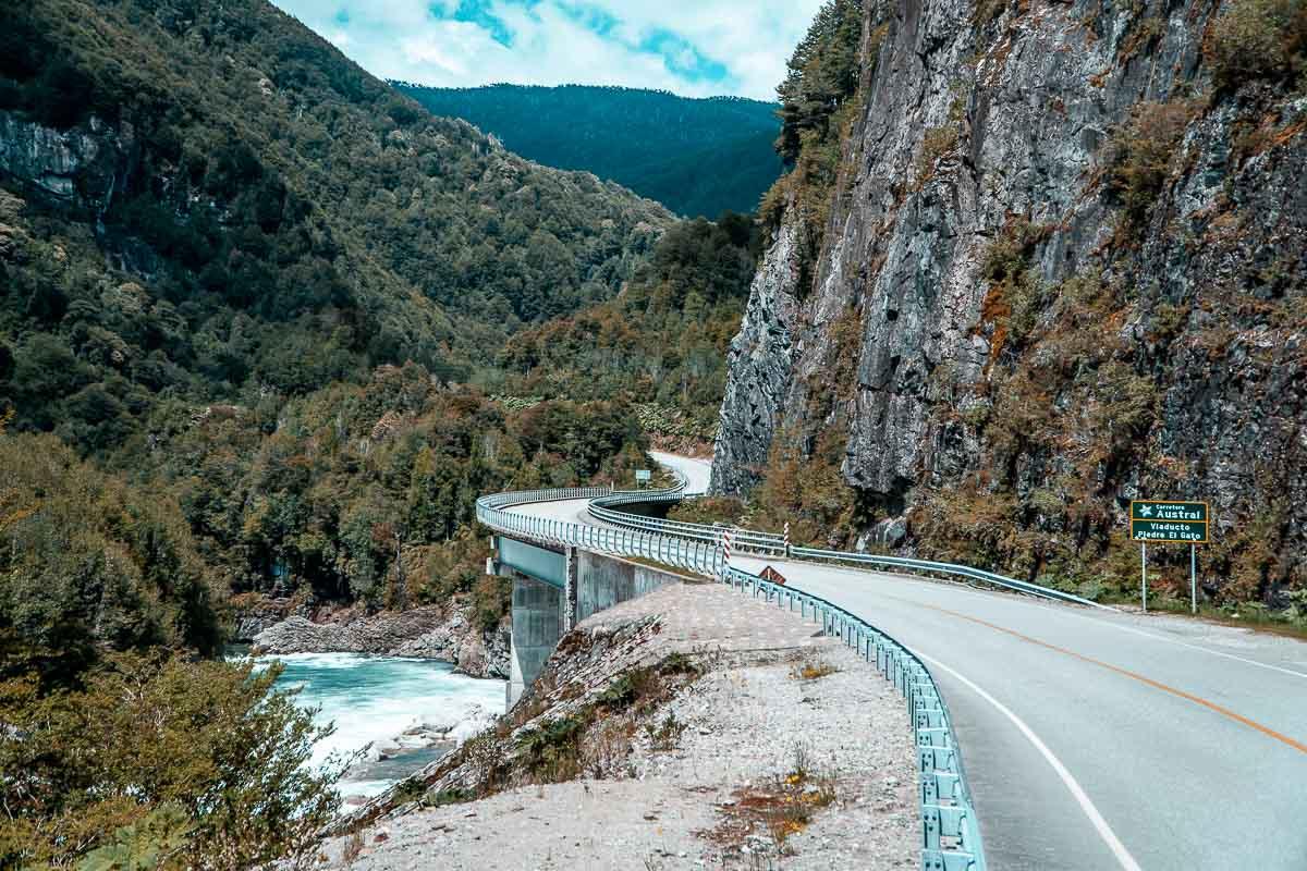 Carretera Austral Chile - Viaduto Piedra El Gato