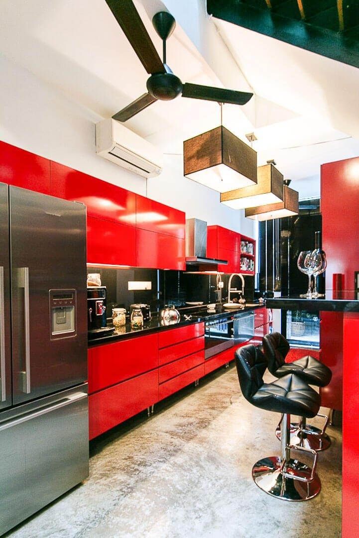 Como funciona o Airbnb - cozinha