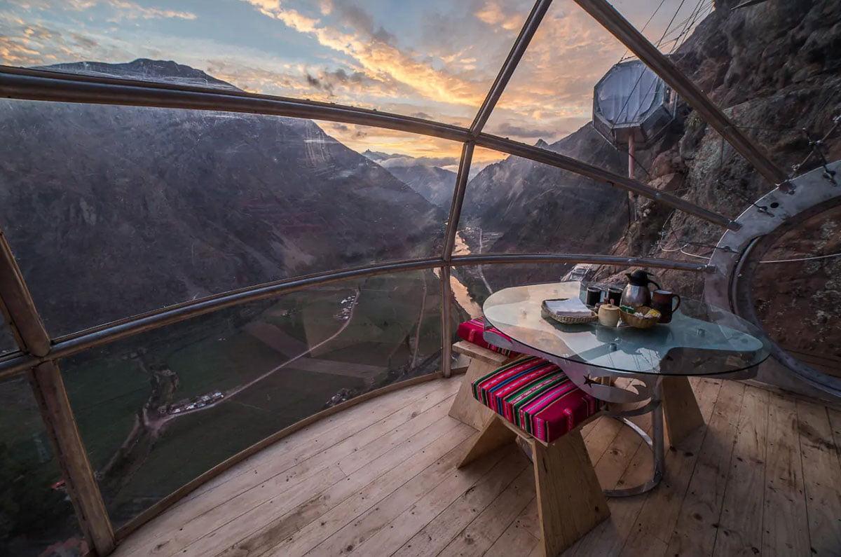 Como funciona o Airbnb - Montanha peru