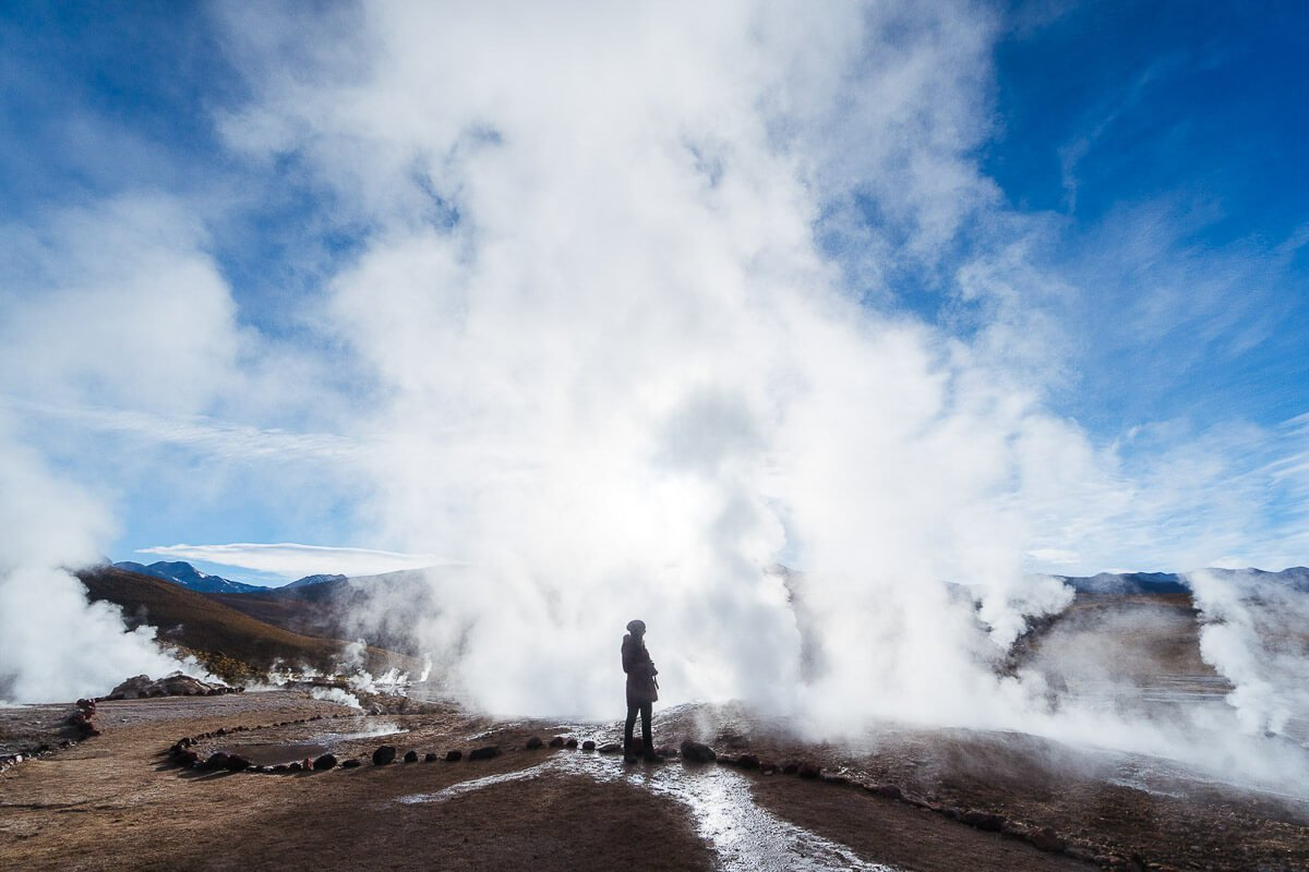 roteiro chile 7 dias Santiago + Atacama - Geyser del Tatio