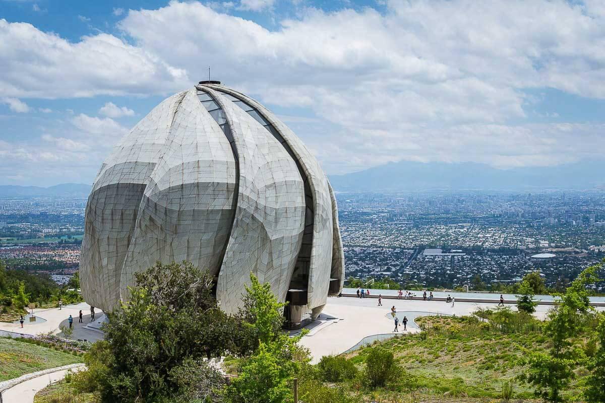 roteiro chile 7 dias Santiago + Atacama - Templo Baha'i